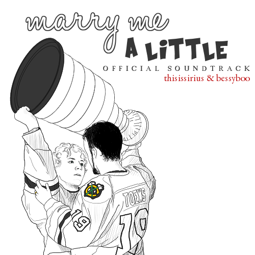 Marry Me A Little (Official Soundtrack) [Front Cover]