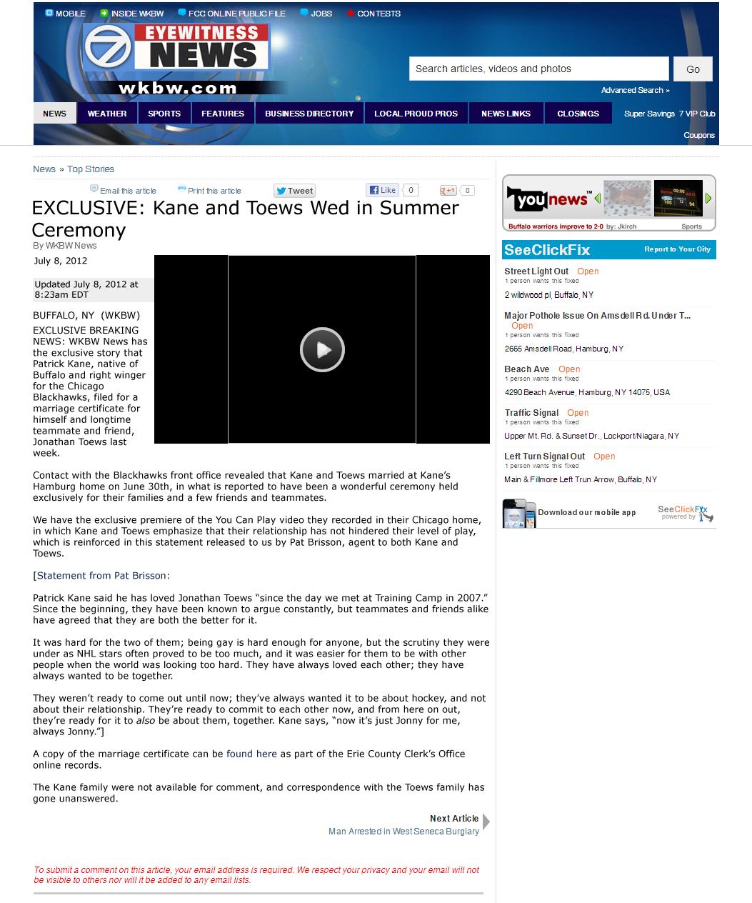 WKBW News Screencap